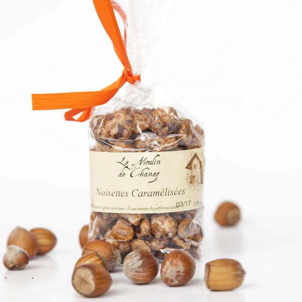 noisettes caramélisées artisanales de Savoie