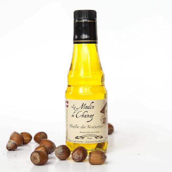 huile de noisettes de savoie